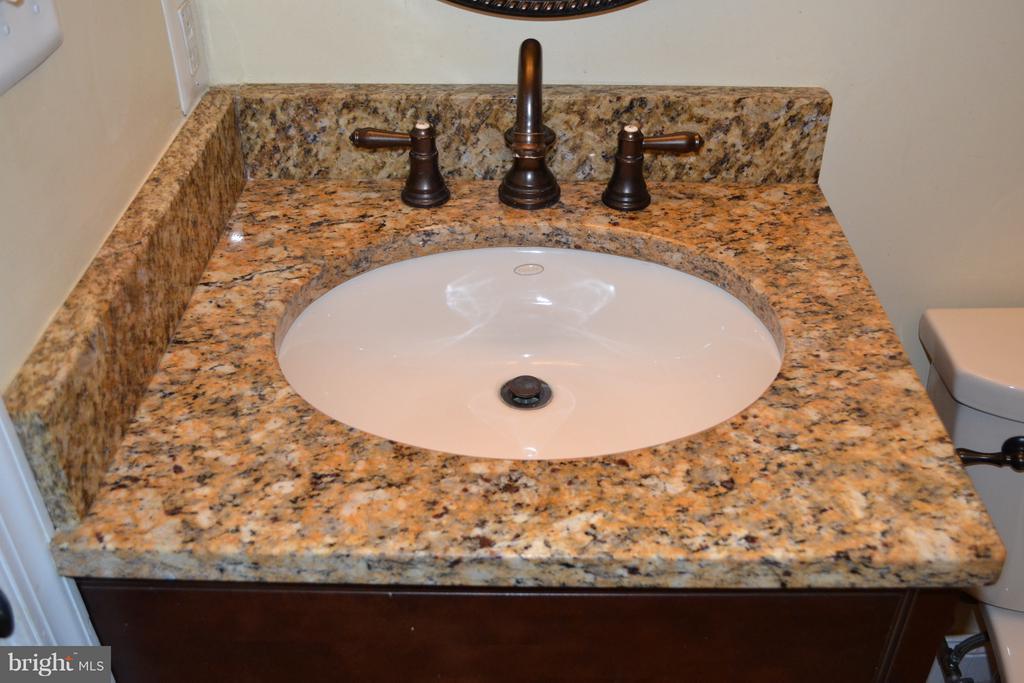 Lower level bath, granite sink. - 1724 BAY ST SE, WASHINGTON