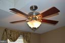Guestroom, ceiling fan. - 1724 BAY ST SE, WASHINGTON