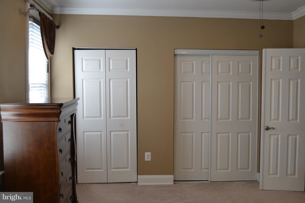 Master Bedroom Closets. - 1724 BAY ST SE, WASHINGTON