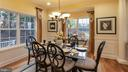 DiningDIning room off kitchen is open to living ro - 101 FEATHERDALE CIR, FAYETTEVILLE