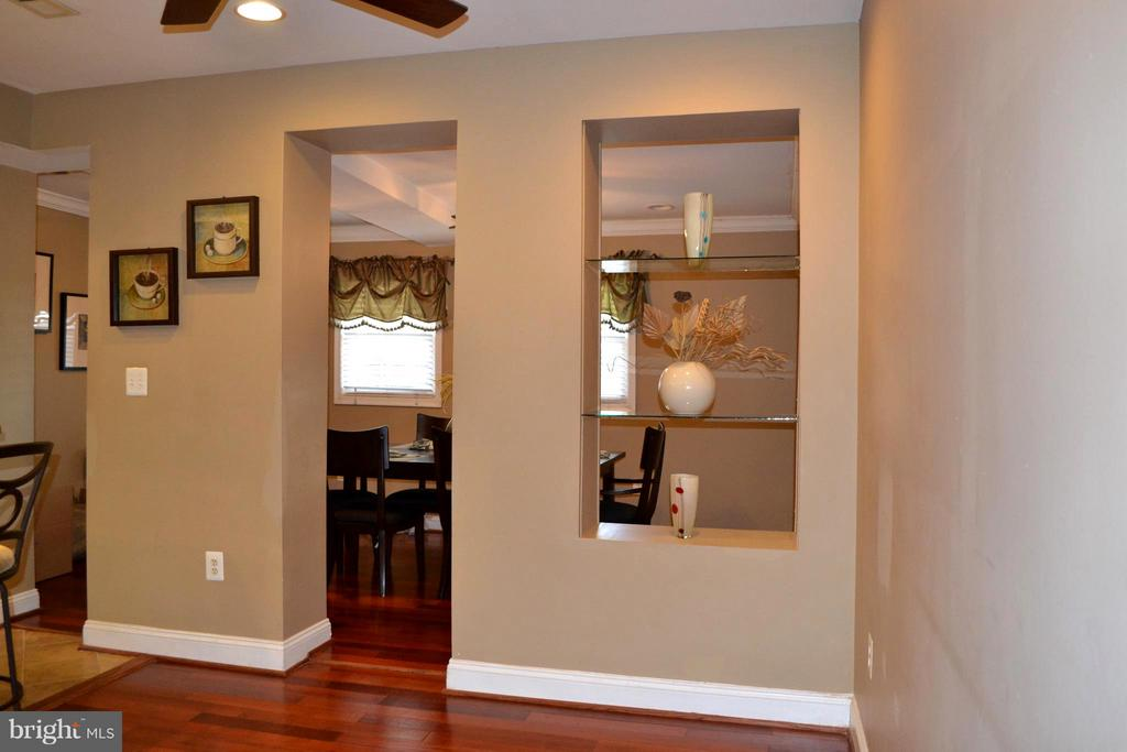 Entry into the dining room, leads to the back yard - 1724 BAY ST SE, WASHINGTON