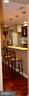 Looking into the kitchen from the dining area. - 1724 BAY ST SE, WASHINGTON