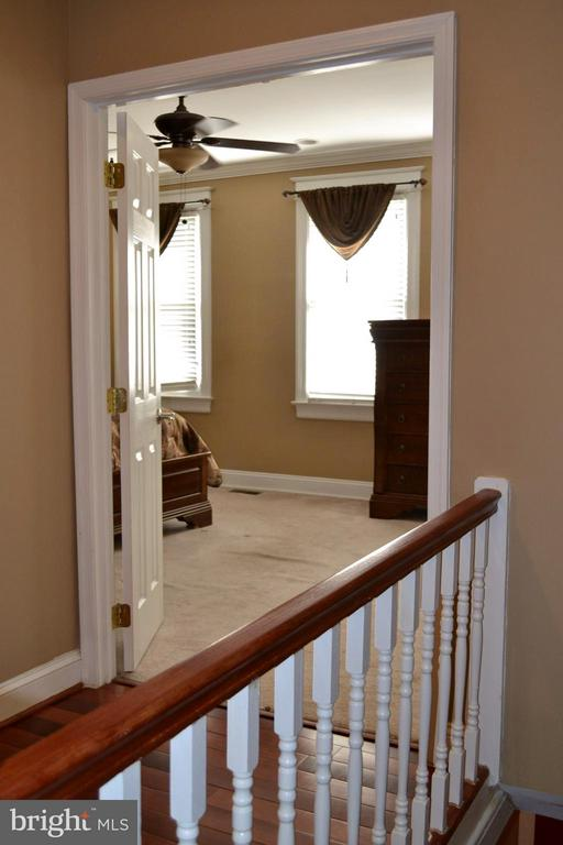 Top of stairs looking into the Master Bedroom. - 1724 BAY ST SE, WASHINGTON