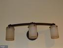 Upper level bath, light fixture. - 1724 BAY ST SE, WASHINGTON