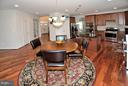 Kitchen w/Generous Table Space - 3145 BARBARA LN, FAIRFAX