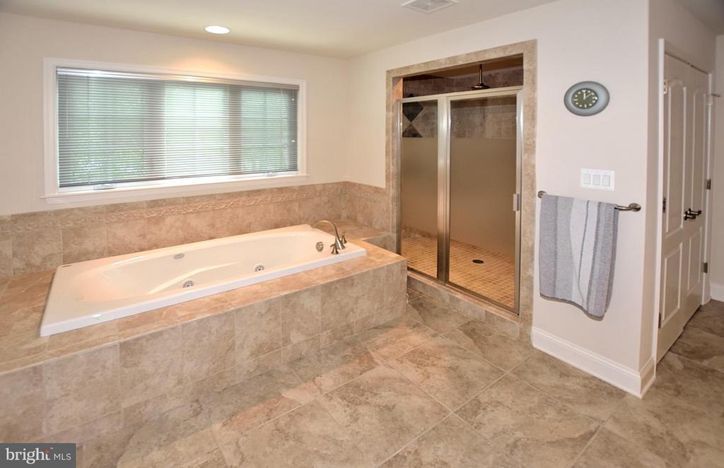 Master Bath w/Deep Jacuzzi Whirlpool Tub - 3145 BARBARA LN, FAIRFAX