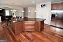Kitchen w/GE Stainless Steel Appliances - 3145 BARBARA LN, FAIRFAX