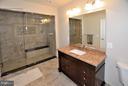 4th Full Bath w/Steam Shower - 3145 BARBARA LN, FAIRFAX