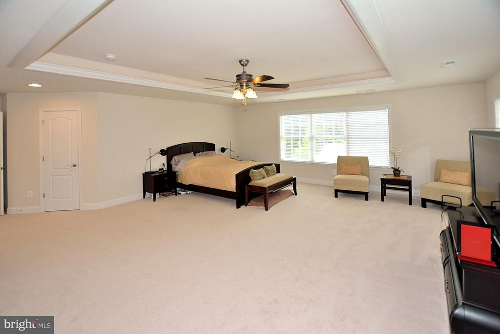 Master Bedroom Suite w/Boxed Ceiling - 3145 BARBARA LN, FAIRFAX