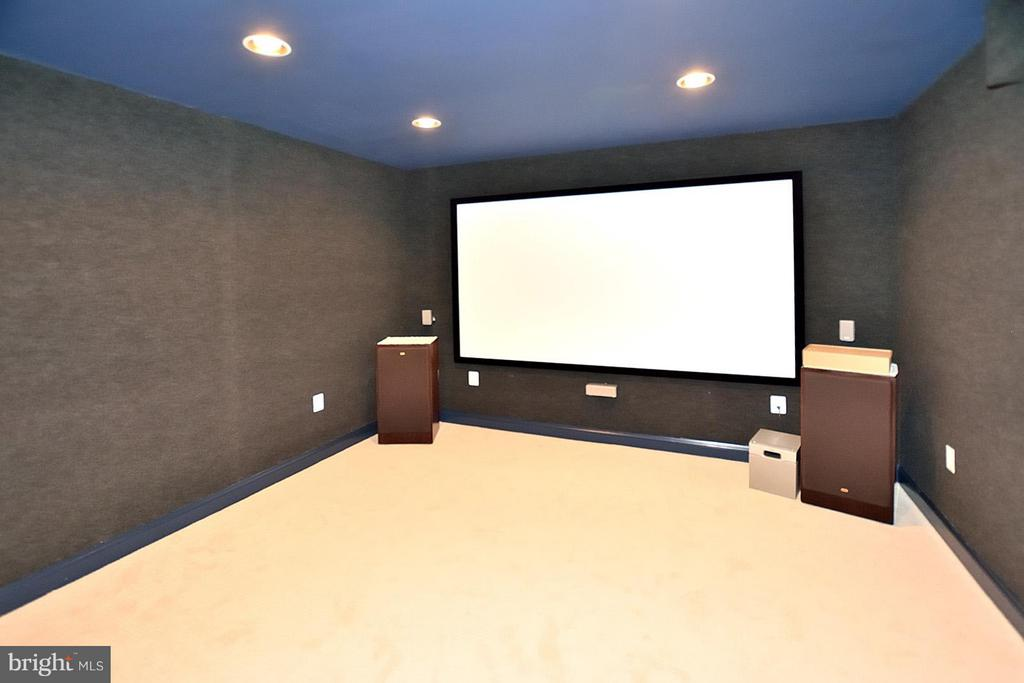 Sound-Proof Theatre Room - 3145 BARBARA LN, FAIRFAX