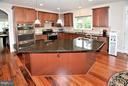 Kitchen w/Center Island - 3145 BARBARA LN, FAIRFAX