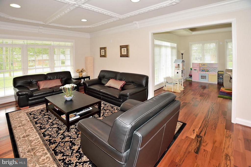 Living Room w/Recessed Lighting - 3145 BARBARA LN, FAIRFAX
