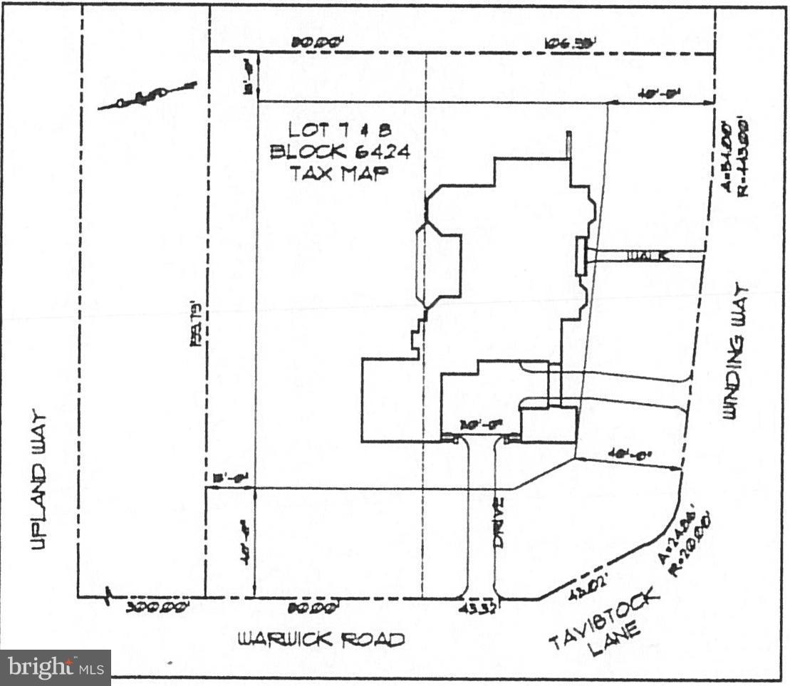 Land for Sale at 195 WINDING WAY Haddonfield, New Jersey 08033 United StatesMunicipality: Haddonfield