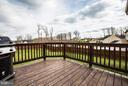 Wood Deck for Entertaining. Recently Re-coated! - 1003 JULIAS PL, FREDERICKSBURG