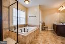 Large Soaking Tub and Water Closet - 1003 JULIAS PL, FREDERICKSBURG