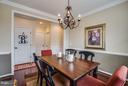 Separate Formal Dining Room - 1003 JULIAS PL, FREDERICKSBURG