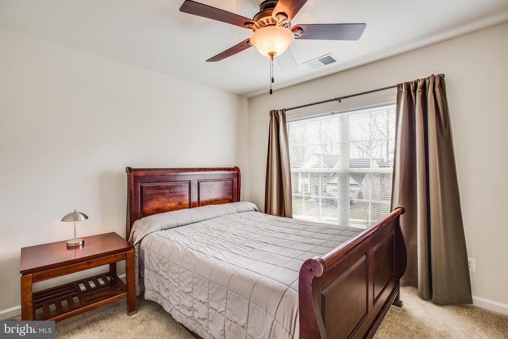 Bedroom 2 with Dimming Light Ceiling Fan - 1003 JULIAS PL, FREDERICKSBURG