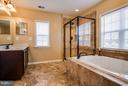 Separate Shower with Upgraded Ceramic Tile - 1003 JULIAS PL, FREDERICKSBURG