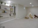 Lower Level Built-ins and Play Area - 43205 EDGARTOWN ST, CHANTILLY