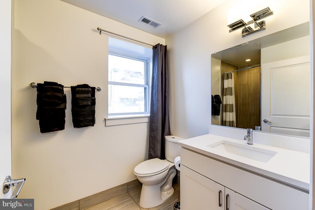 Lower Level Bathroom - 1101 S ST NW, WASHINGTON