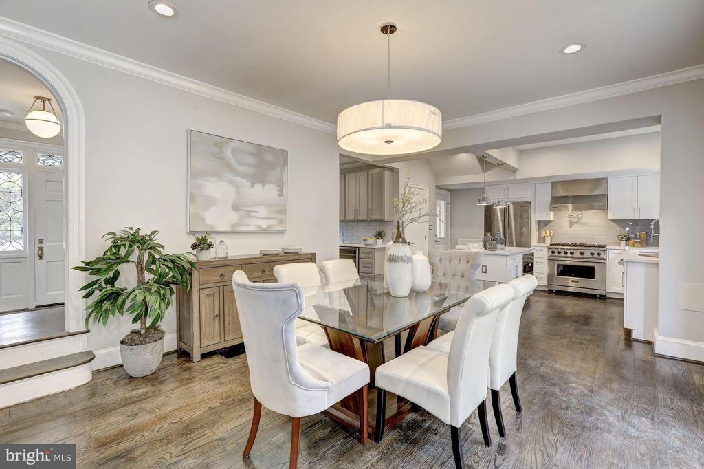 Main Level - Dining Room - 1701 HOBAN RD NW, WASHINGTON