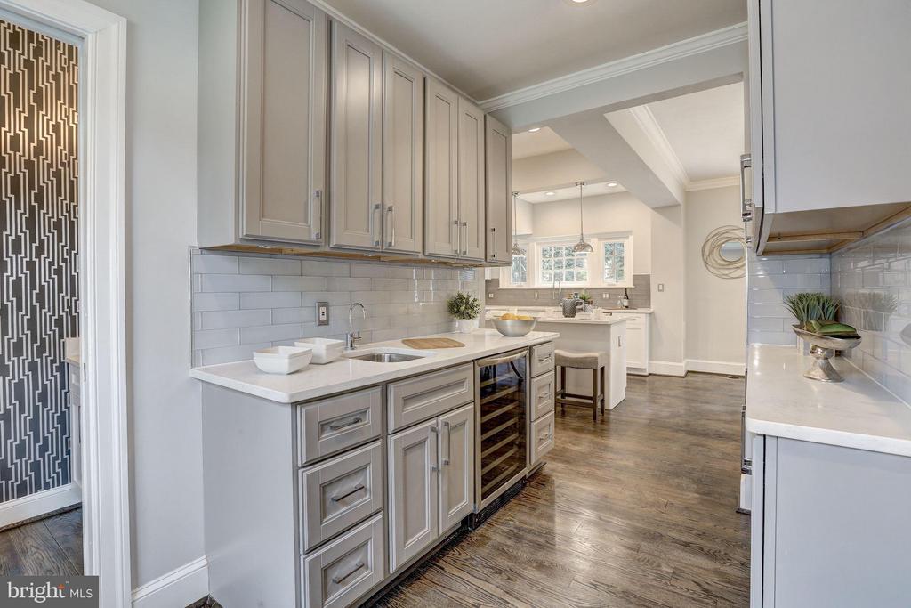 Main Level - Butler's Pantry - 1701 HOBAN RD NW, WASHINGTON