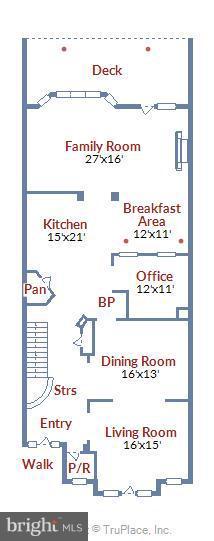 Floor plan - 18263 MULLFIELD VILLAGE TER, LEESBURG