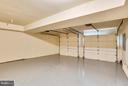Finished Garage with epoxy color flake floor - 18263 MULLFIELD VILLAGE TER, LEESBURG