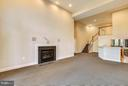 Recreation Room with gas fireplace & wet bar - 18263 MULLFIELD VILLAGE TER, LEESBURG