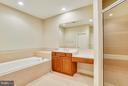 Master Bath - 18263 MULLFIELD VILLAGE TER, LEESBURG