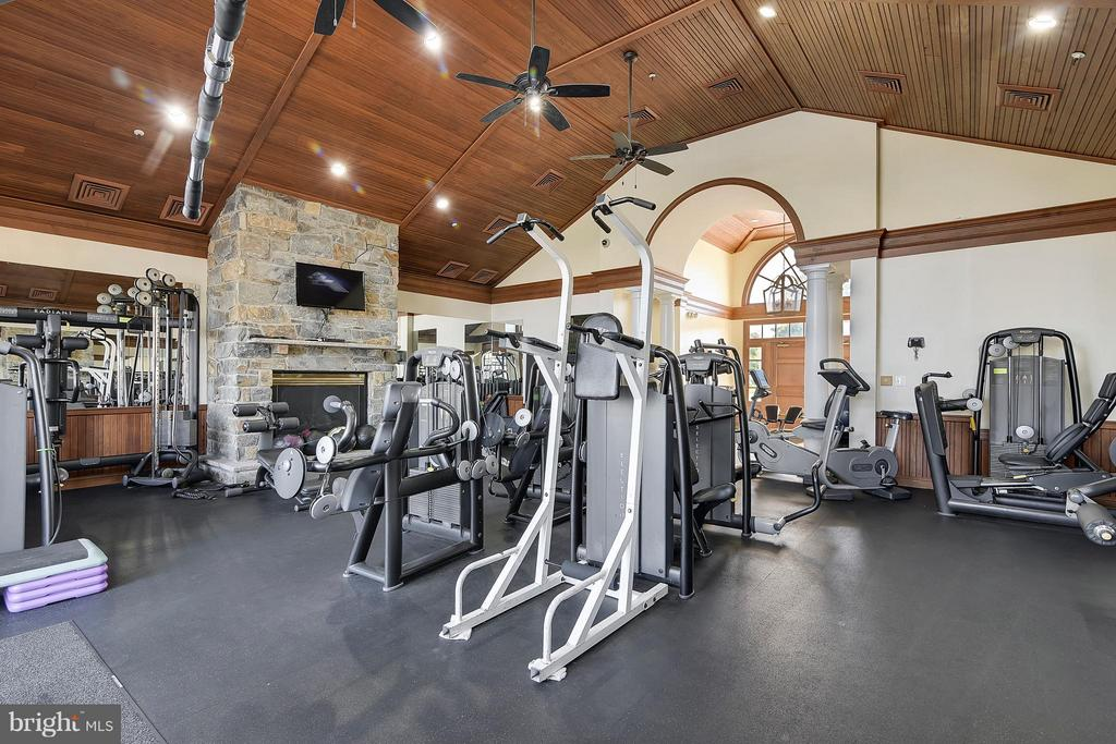River Creek Exercise Room - 18263 MULLFIELD VILLAGE TER, LEESBURG