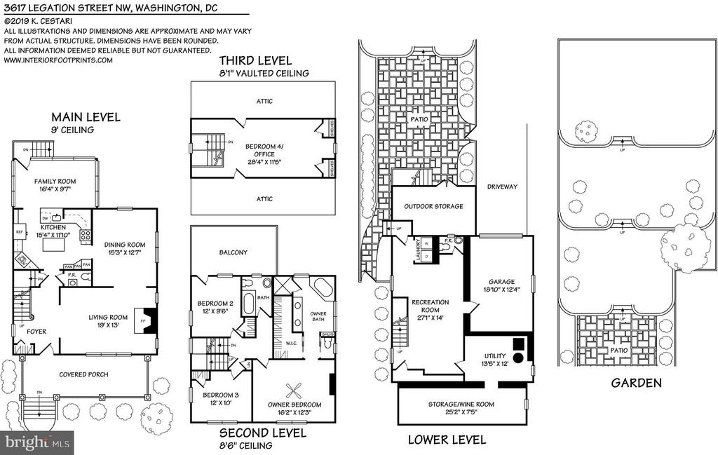 Floor Plan - 3617 LEGATION ST NW, WASHINGTON