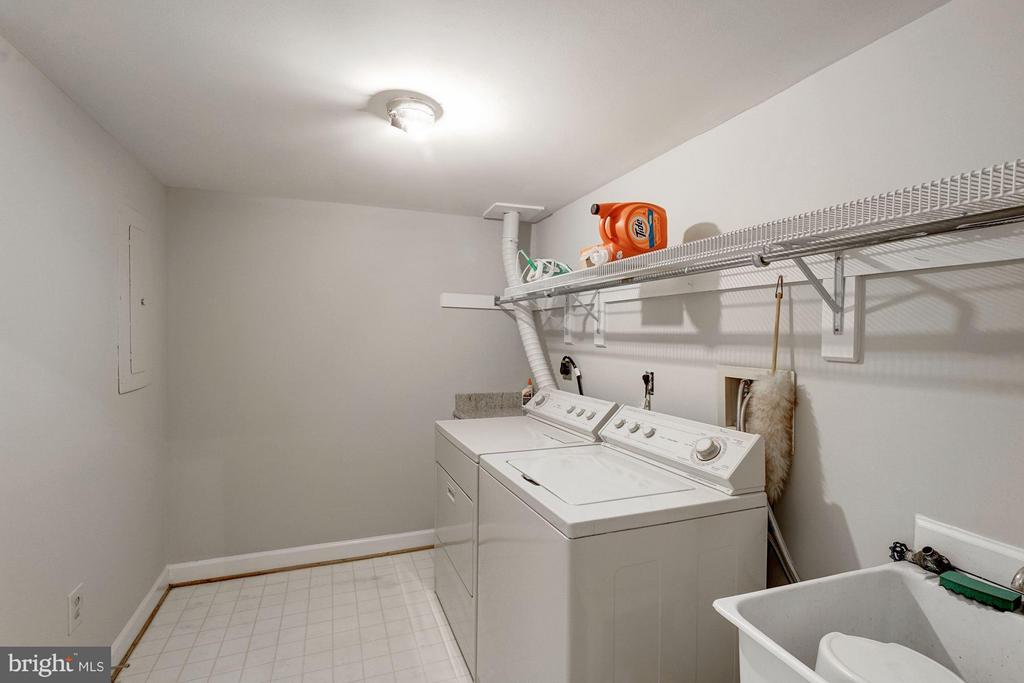 Laundry Room in Basement - 5206 BEDLINGTON TER, ALEXANDRIA