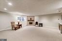 Large Finished Basement - 5206 BEDLINGTON TER, ALEXANDRIA