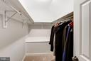 Walk-In Closet @ 3rd Floor Bedroom Loft - 5206 BEDLINGTON TER, ALEXANDRIA