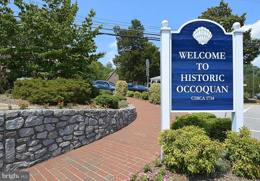 Rich in history, shops, restaurants and artistry! - 217 MILL ST, OCCOQUAN