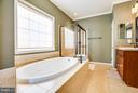 Master Bathroom with Soaking Tub - 1019 E KENSINGTON CIR, FREDERICKSBURG