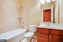 Full Bathroom in Basement - 1019 E KENSINGTON CIR, FREDERICKSBURG