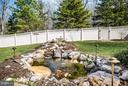 Extensive Hardscape & Pond with Waterfall - 1019 E KENSINGTON CIR, FREDERICKSBURG