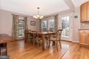 Dining Room - 8620 PINECLIFF DR, FREDERICK