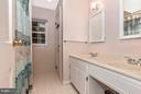 Upper Level Hall Full Bathroom - 8620 PINECLIFF DR, FREDERICK