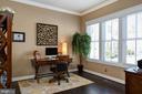Main level study, off of foyer. - 41139 WHITE CEDAR CT, ALDIE