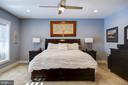 Bedrooom 6 in lower level.  Sunny w/pocket doors - 41139 WHITE CEDAR CT, ALDIE