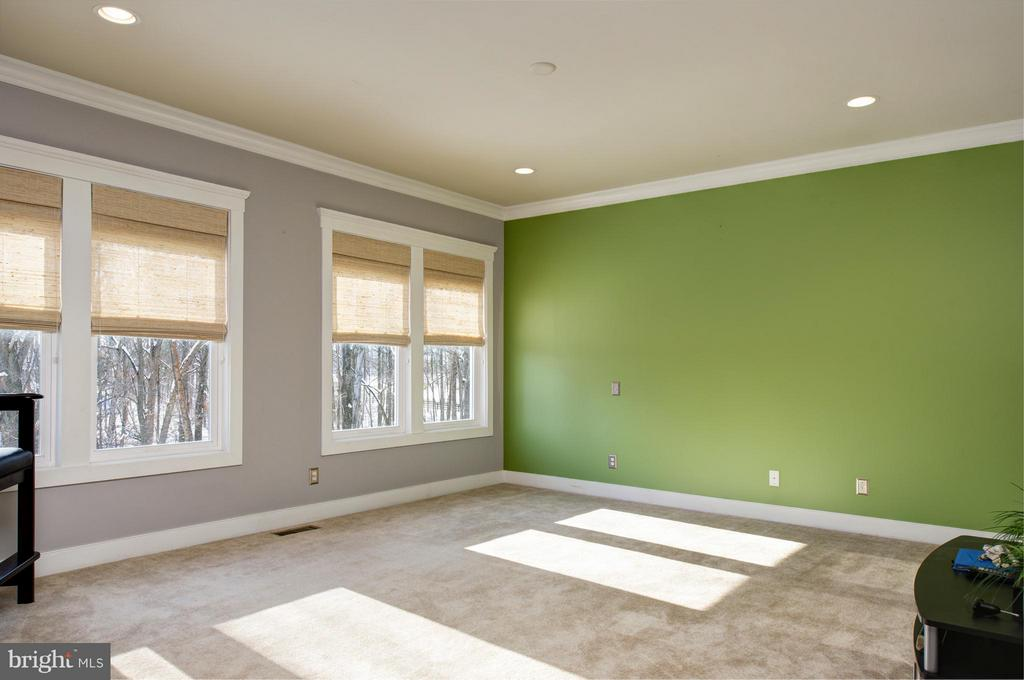 Master bedroom and sitting area,  2 w/in closets. - 41139 WHITE CEDAR CT, ALDIE