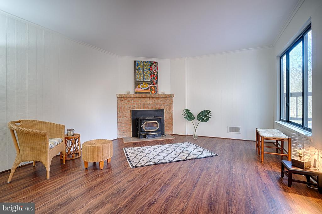 Family Room - 1425 GREEN RUN LN, RESTON