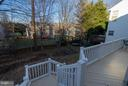Fully Fenced backyard - 5602 ASSATEAGUE PL, MANASSAS