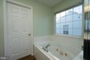 Jacuzzi Tub &  Separate Glass Shower - 5602 ASSATEAGUE PL, MANASSAS