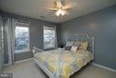 Bedroom #1 has lots of Natural Light - 5602 ASSATEAGUE PL, MANASSAS