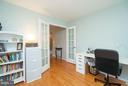 Spacious Study/Office w/French Doors - 5602 ASSATEAGUE PL, MANASSAS