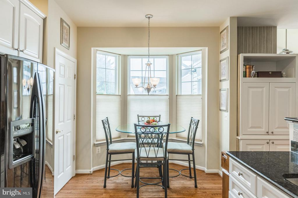 Breakfast Area with Bay Window - 3756 RUSSETT MAPLE CT, DUMFRIES